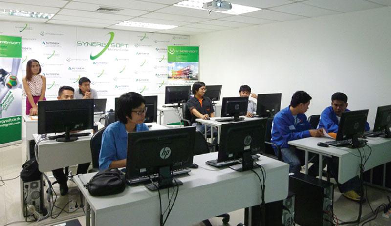 Synergysoft Education Center - ภาพผู้เข้าร่วมงาน workshop