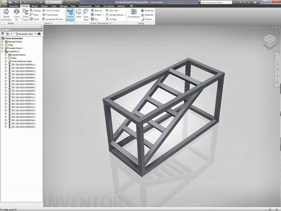 Autodesk Inventor Drawing A Sheet Metal Table Change