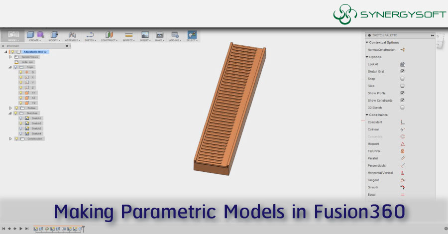 Making Parametric Models in Fusion360
